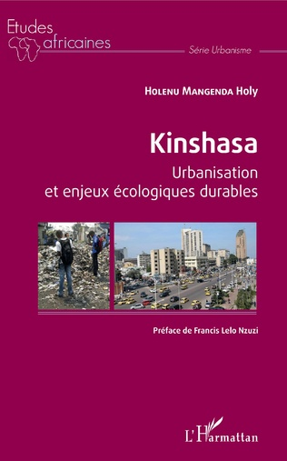 Couverture Kinshasa Urbanisation et enjeux écologiques durables