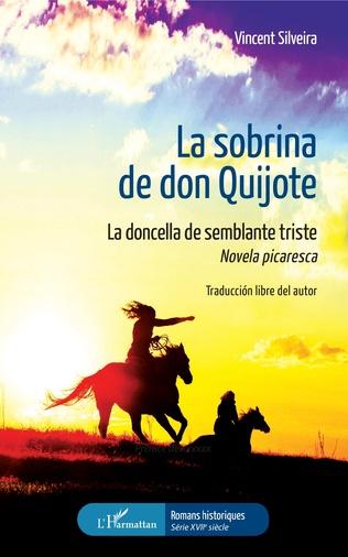 Couverture La sobrina de don Quijote