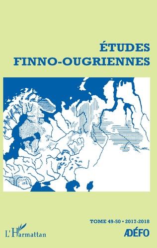 Couverture Études Finno-Ougriennes