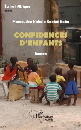 Couverture Confidences d'enfants