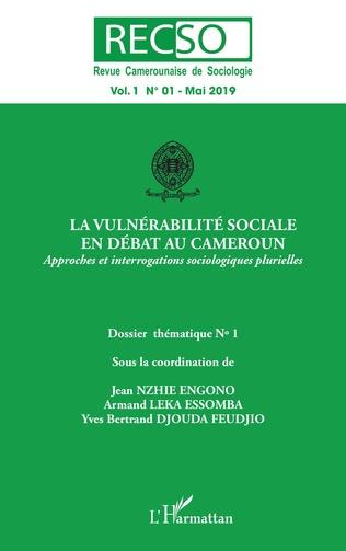 Couverture La vulnérabilité sociale en débat au Cameroun