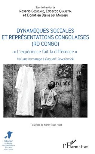 Couverture Dynamiques sociales et représentations congolaises (RD Congo)