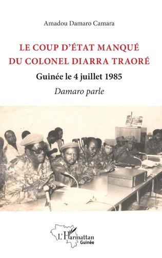 Couverture Le coup d'état manqué du colonel Diarra Traoré