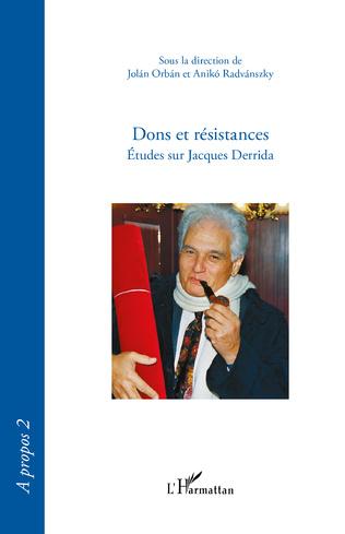 Couverture Dons et résistances