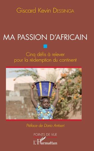 Couverture Ma passion d'Africain
