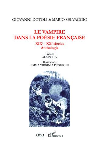Couverture Le vampire dans la poésie française