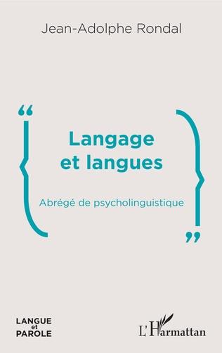 Couverture Langage et langues
