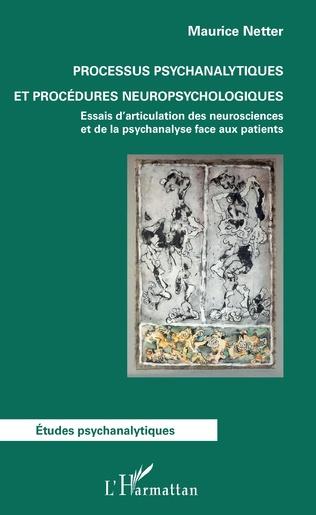 Couverture Processus psychanalytiques et procédures neuropsychologiques