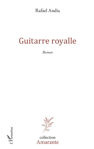Couverture Guitarre Royalle