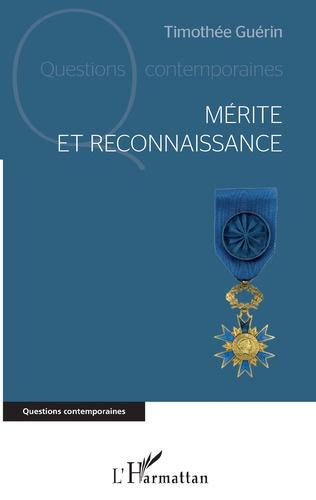 Couverture Mérite et reconnaissance