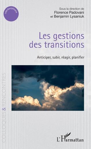 Couverture Les gestions des transitions