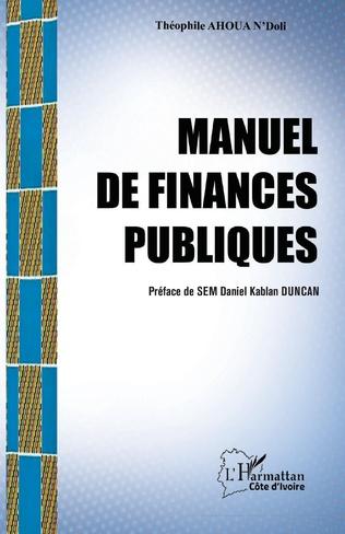 Couverture Manuel de finances publiques