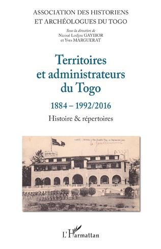 Couverture Territoires et administrateurs du Togo