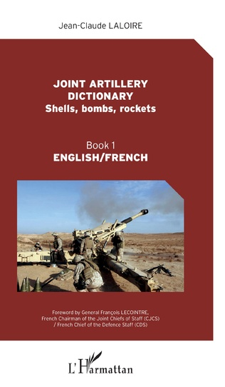 Couverture Joint artillery dictionnary