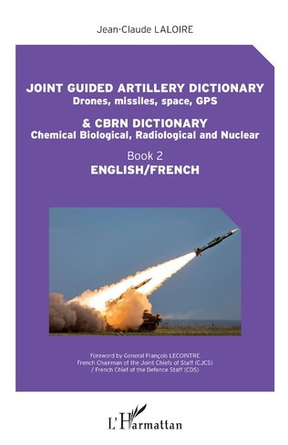 Couverture Joint guided artillery dictionnary and CBRN dictionnary