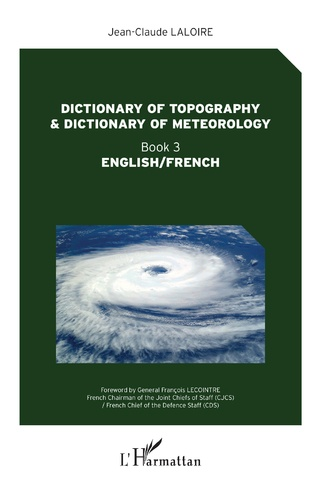 Couverture Dictionary of topography and dictionary of meteorology