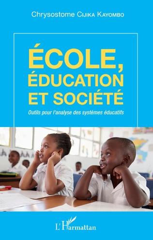 Couverture Ecole, éducation et société