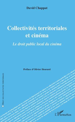 Couverture Collectivités territoriales et cinéma