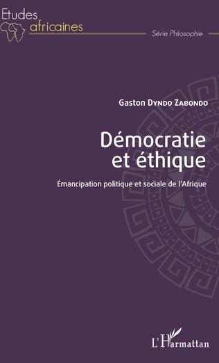 Couverture Démocratie et éthique