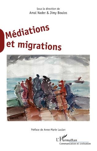 Couverture Médiations et migrations