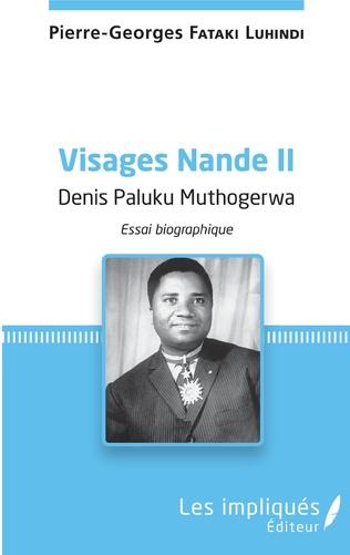 Couverture Visages Nande II Denis Paluku Muthogerwa