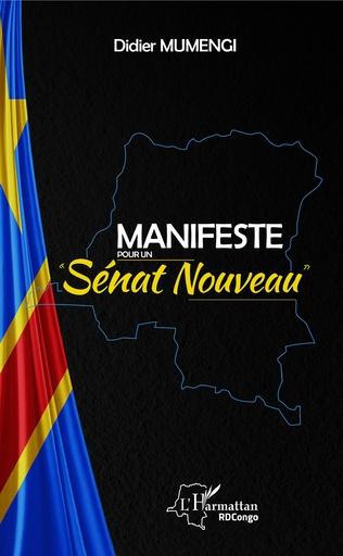 Couverture Manifeste pour un Sénat nouveau
