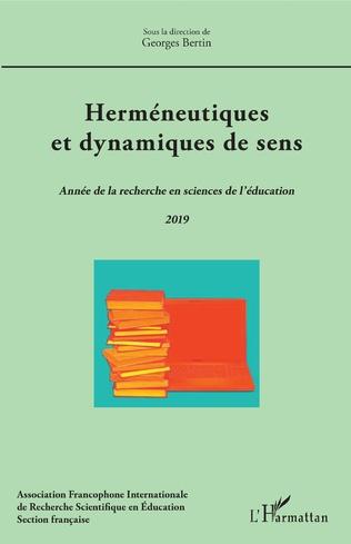 Couverture Herméneutiques et dynamiques de sens