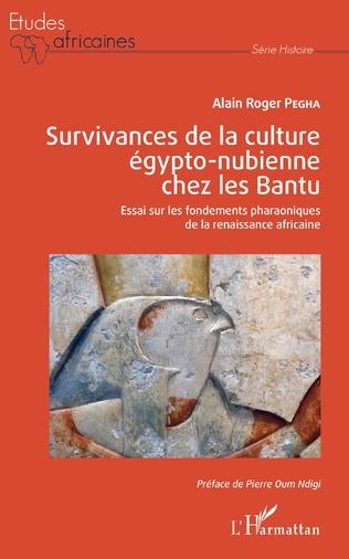 Couverture Survivances de la culture égypto-nubienne chez les Bantu