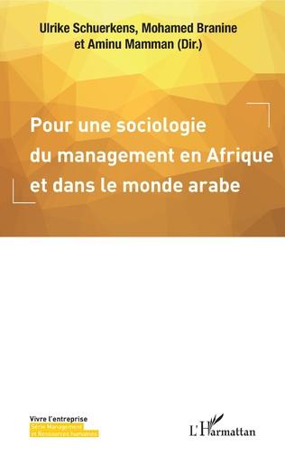 Couverture Pour une sociologie du management en Afrique et dans le monde arabe