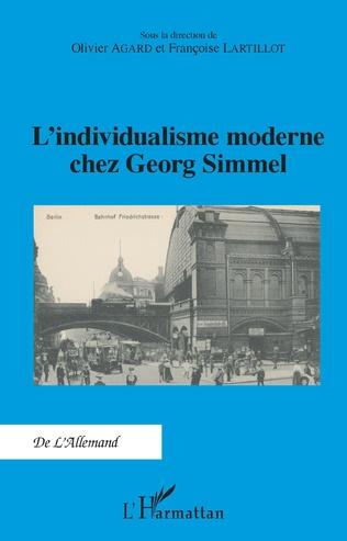 Couverture L'individualisme moderne chez Georg Simmel
