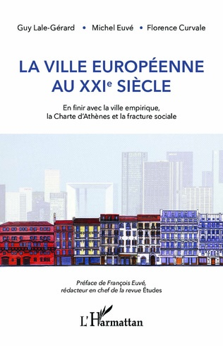 Couverture La ville européenne au XXIe siècle