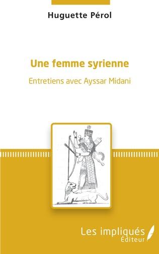Couverture Une femme syrienne
