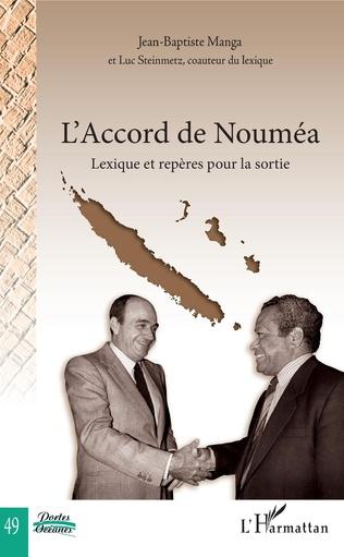 Couverture L'Accord de Nouméa