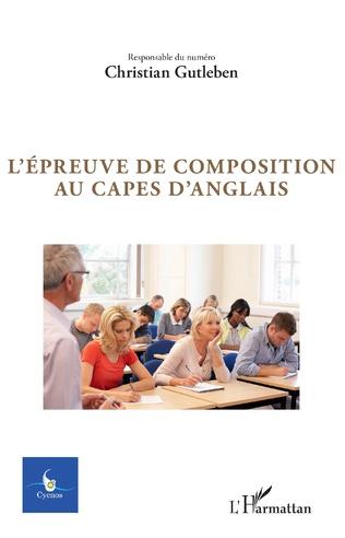 Couverture L'épreuve de composition au Capes d'anglais