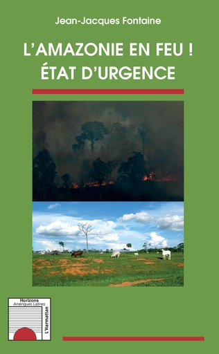 Couverture L'Amazonie en feu !