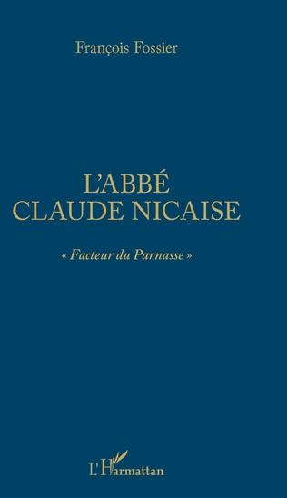 Couverture L'abbé Claude Nicaise