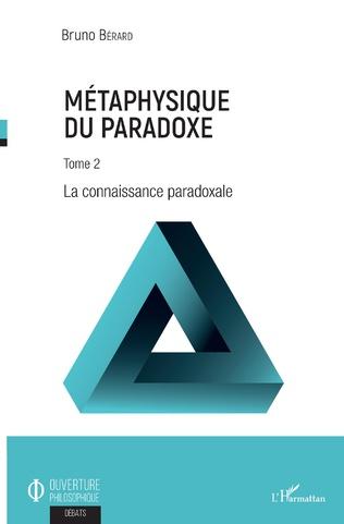 Couverture Métaphysique du paradoxe