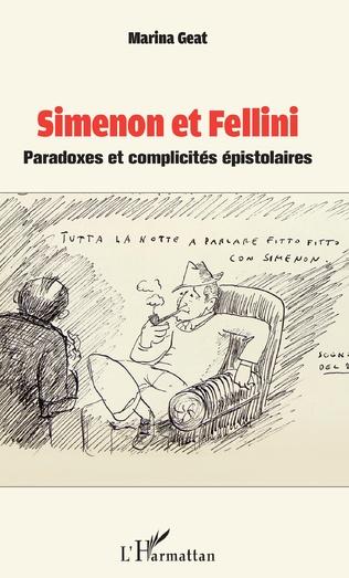 Couverture Simenon et Fellini