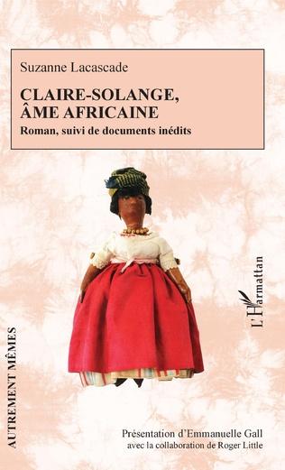 Couverture Claire-Solange, âme africaine