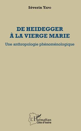 Couverture De Heidegger à la vierge Marie