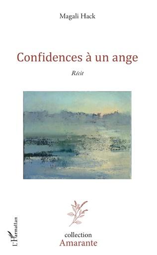 Couverture Confidences à un ange