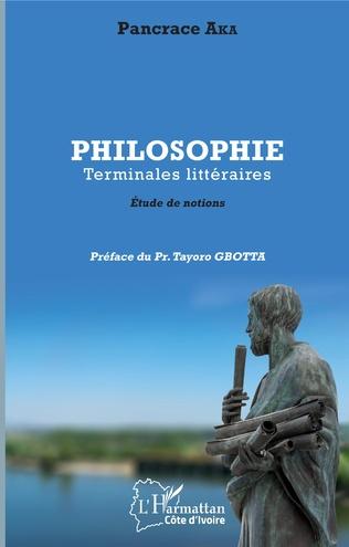 Couverture Philosophie Terminales littéraires