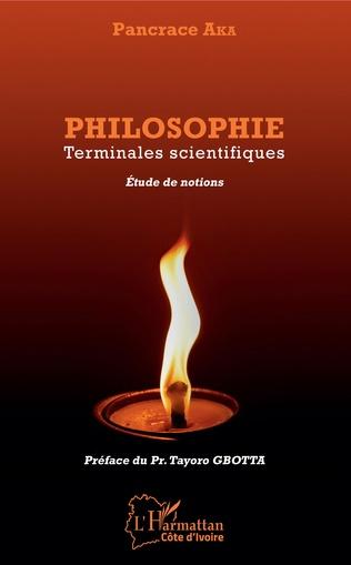 Couverture Philosophie Terminales scientifiques