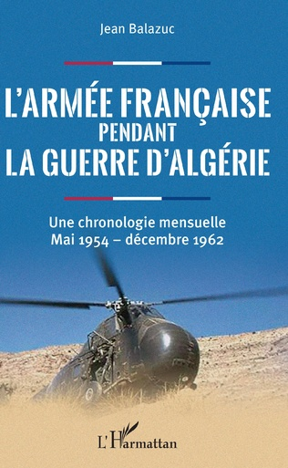 Couverture L'armée française pendant la guerre d'Algérie