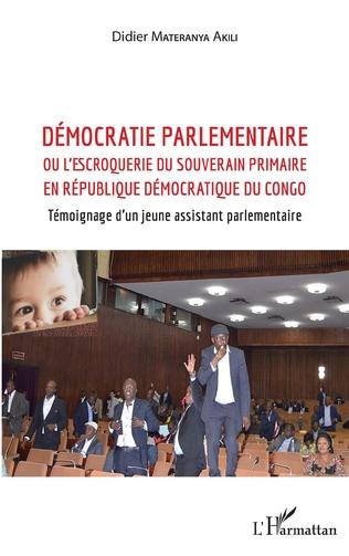 Couverture Démocratie parlementaire