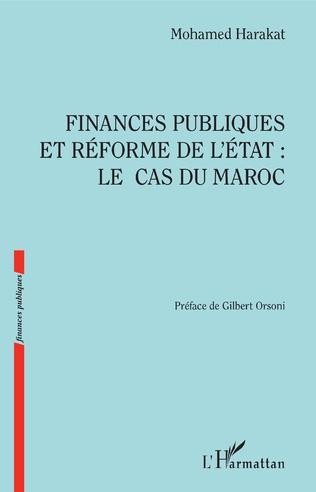 Couverture Finances publiques et réforme de l'Etat : le cas du Maroc