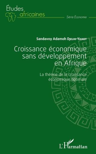 Couverture Croissance économique sans développement en Afrique