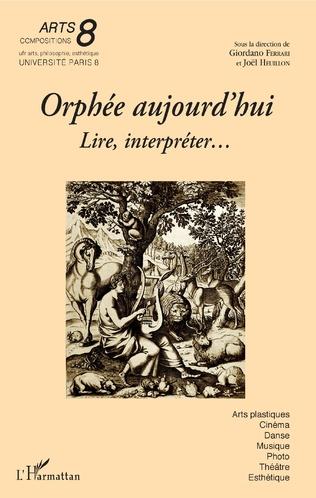 Couverture Orphée aujourd'hui