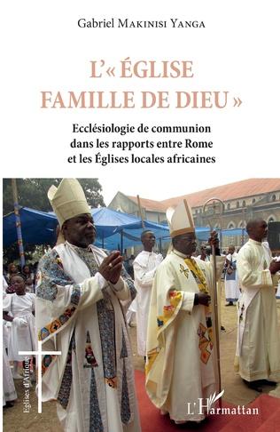 Couverture L'Eglise famille de Dieu