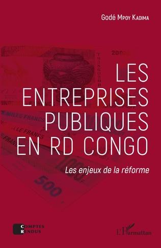 Couverture Les entreprises publiques en RD Congo